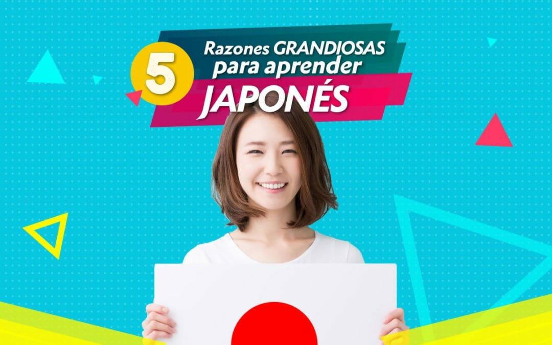 5 grandiosas razones para aprender japonés