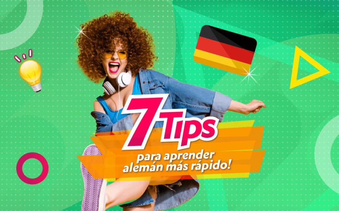 ¡7 Tips para aprender alemán más rápido!