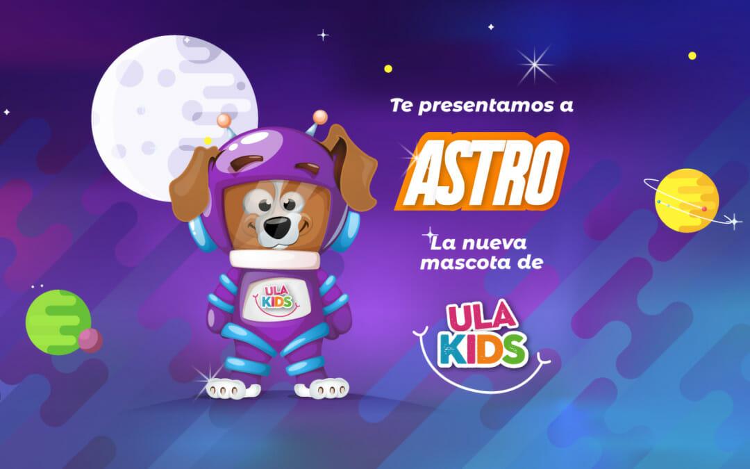 Astro es el nuevo integrante de la familia ULA y tiene 4 patas 🐾