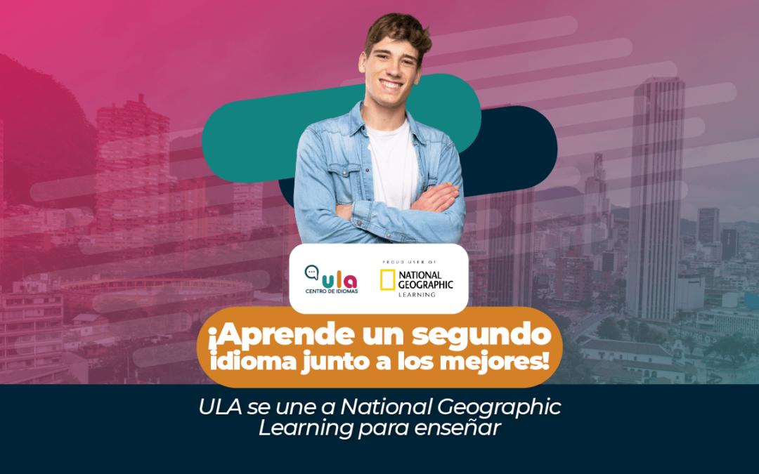 ¡Aprende un nuevo idioma junto a los mejores! ULA se une a National Geographic Learning para enseñar
